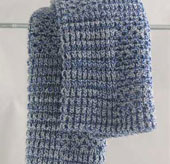 cobalt dishcloth