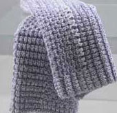 lavender dishcloth